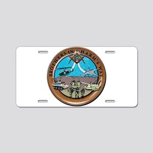 Brothers In Harm's Way Aluminum License Plate