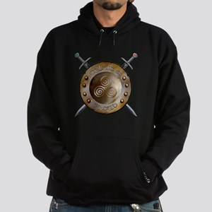 Shield and Sword Hoodie (dark)