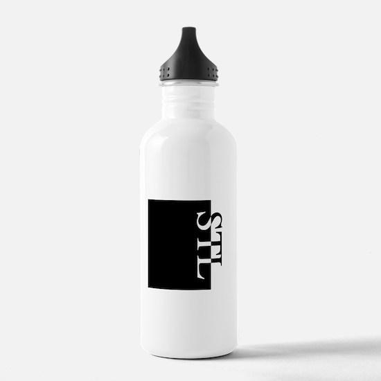 STL Typography Water Bottle