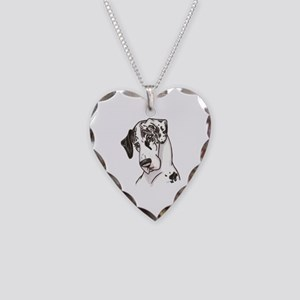 NH Shy Necklace Heart Charm