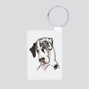 NH Shy Aluminum Photo Keychain