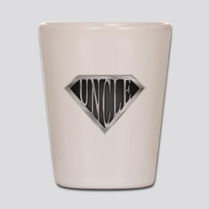 SuperUncle(metal) Shot Glass
