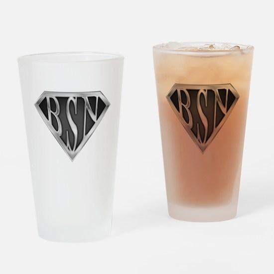SuperBSN(metal) Drinking Glass
