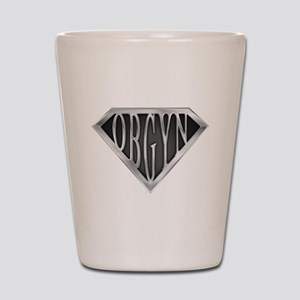 SuperOBGYN(metal) Shot Glass