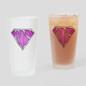 Super RN - Pink Drinking Glass