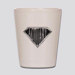 SuperActuary(metal) Shot Glass