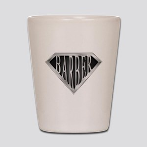 SuperBarber(metal) Shot Glass