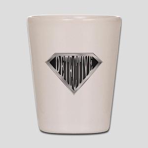 SuperDetective(metal) Shot Glass