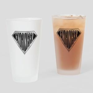 SuperEngineer(metal) Drinking Glass