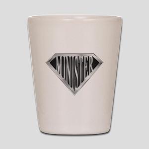 SuperMinister(metal) Shot Glass