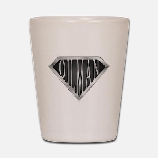 SuperOilman(metal) Shot Glass