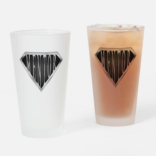 SuperMentor(metal) Drinking Glass