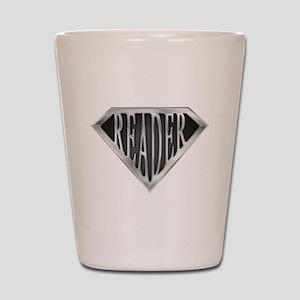 SuperReader(metal) Shot Glass