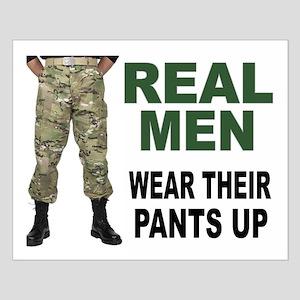 REAL MEN Posters