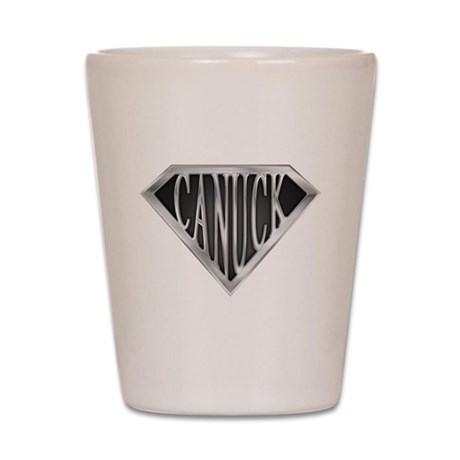 SuperCanuck(metal) Shot Glass