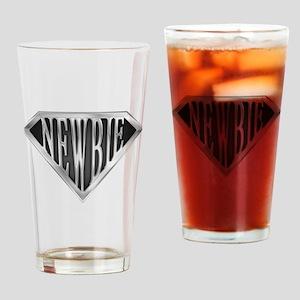 SuperNewbie(metal) Drinking Glass