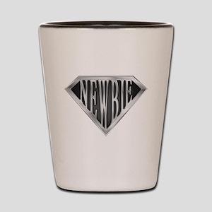 SuperNewbie(metal) Shot Glass
