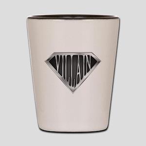 SuperVillain(metal) Shot Glass