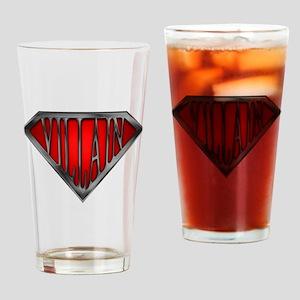 Super Villain Drinking Glass