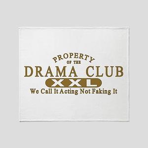 Drama Club Throw Blanket