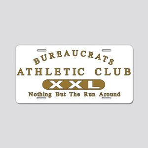 Bureaucrats Club Aluminum License Plate