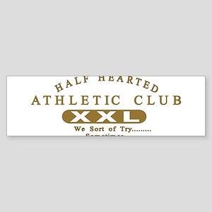 Half Hearted Club Sticker (Bumper)