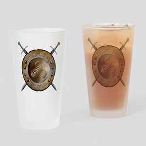 Shield and swords Drinking Glass