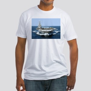 USS George Washington Fitted T-Shirt