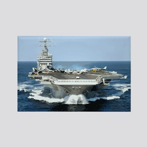 USS George Washington Rectangle Magnet