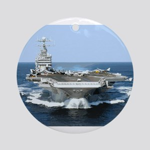 USS George Washington Ornament (Round)