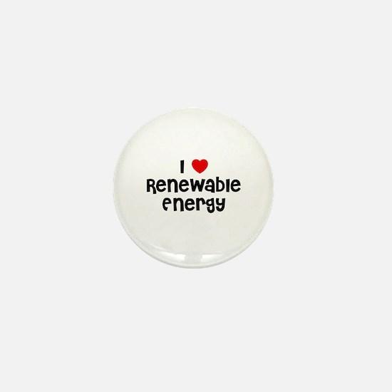I * Renewable Energy Mini Button