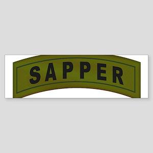 Sapper Tab Sticker (Bumper)