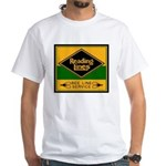 Reading Bee Lines-2-Image-White T-Shirt
