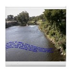Living Waters Tile Coaster