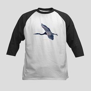 Great BLue Heron Baseball Jersey