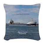 Capt Henry Jackman Woven Throw Pillow