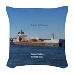 Robert S. Pierson Woven Throw Pillow