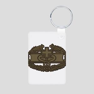 Combat Medic OD Aluminum Photo Keychain