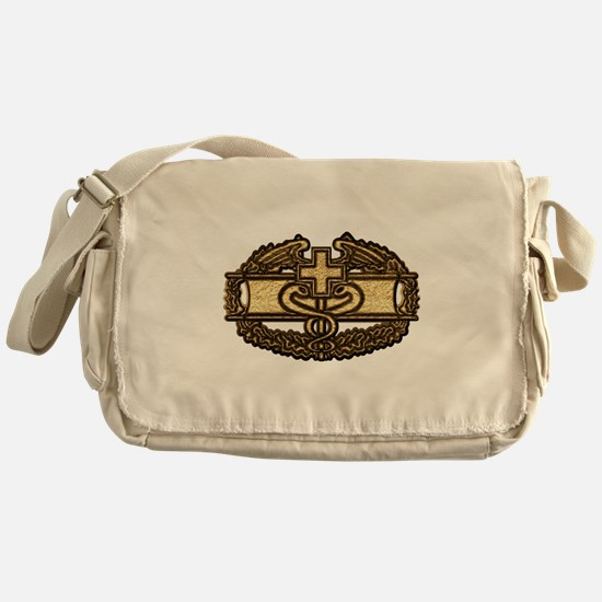 Combat Medic(gold) Messenger Bag