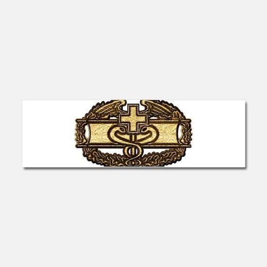 Combat Medic(gold) Car Magnet 10 x 3