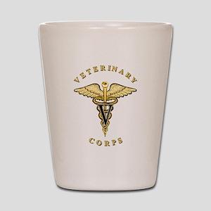 US Army Veterinary Shot Glass