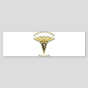 US Army Veterinary Sticker (Bumper)