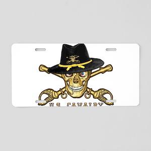 Forever Cavalry Aluminum License Plate
