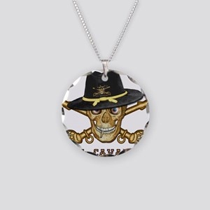 Forever Cavalry Necklace Circle Charm