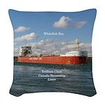 Whitefish Bay Woven Throw Pillow