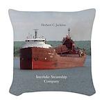 Herbert C. Jackson Woven Throw Pillow