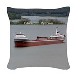 Edward L. Ryerson Woven Throw Pillow