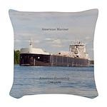 American Mariner Woven Throw Pillow