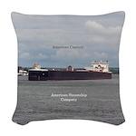 American Century Woven Throw Pillow