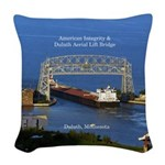American Integrity Duluth Woven Throw Pillow
